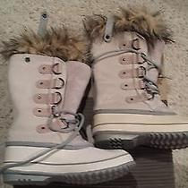 Sorel Joan of Arctic Winter Snow Boots Size Women's 6 Winter White Nl1540-139 Photo