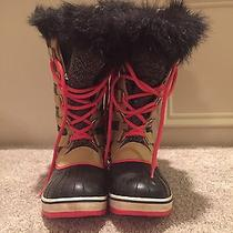 Sorel Joan of the Artic Waterproof Snow Boots Size 9 Photo