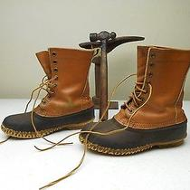 Sorel Kaufman Made in Canada Brown Lace Up Farm & Ranch Hunting Duck Boots 8-M Photo