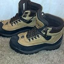 Sorel Kaufman Womens Lace Up Winter Snow Hiking  Boot Insulated 8 Tan Leather Photo