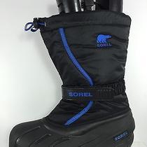 Sorel Kids Black Snow Boots 7 Photo