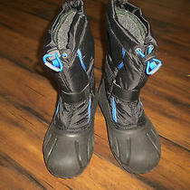 Sorel Kids Flurry Winter Boots Winter Snow Boots Size 2 Photo