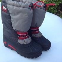 Sorel Kids Size 1 Snow Boots. Euc Photo