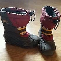 Sorel Kids Snow Boots Size 10  Photo