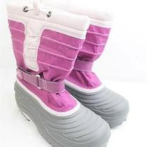 Sorel Kids Snow Trooper Tp Pink Ny1804 2.5 Eu 34 2/3 Winter Snow Boot 45 Photo