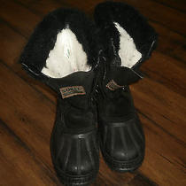 Sorel Kids Winter Boots Winter Snow Boots Size 4 Photo