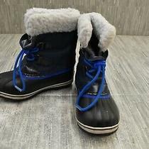 Sorel Kids Yoot Pac Nylon Snow Boot - Little Kid's Size 13 - Blue Photo
