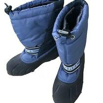 Sorel Kids Youth Winter Snow Boots Blue Size 2 Photo