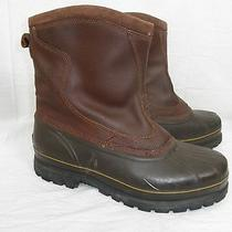 Sorel Kittson Waterproof Insulated Lined Leather Pull on Boots -40f  Us 14/eu47 Photo