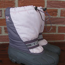 Sorel Ladies Pink and Purple Winter Boots Size 6 Photo