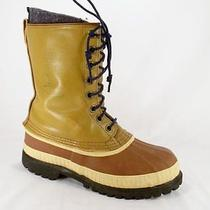 Sorel Mark v  Leather Insulated Winter Lace-Up Snow Boots  Mens 6m Photo