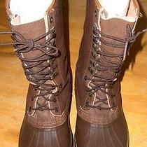 Sorel Maverick Men 12 Insulated Brown Leather/rubber Hunting Work Logger Boots Photo
