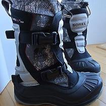 Sorel Men's Alpha Trac Buckle Winter Snow Boots Waterproof Nm1643 Size 8 Nice Photo