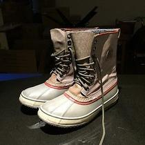 Sorel Men's Caribou Snow Boots With Wool Liner Photo