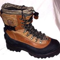 Sorel Mens Conquest Ii (2) Waterproof Insulated Leather Pack Boots Size-9 Photo
