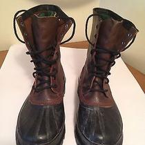 Sorel Mounty 2 Lace Up Insulated Brown Leather/rubber Boots Mens Sz 11 Photo