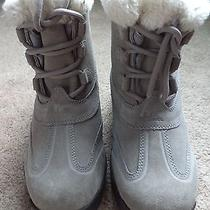 Sorel Nl 1781-023 Womens Winter Insulated Leather Ankle Boots Size 7 New Photo