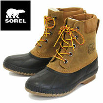 Sorel Nm2575 Cheyanne Ii Men Rain Boots Waterproofing 224 Chipmunk/black Sz. 13 Photo
