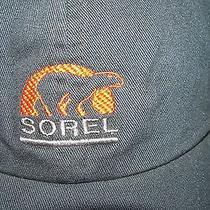 Sorel Original Bear Logo Ball Cap Outdoor Sportsman Hat Lid Fish Hunt Hike Shoot Photo