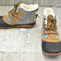 Sorel Out N About Plus (Nl3150-052) Boot - Women's Size 8.5 - Quarry Damaged Photo