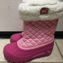 Sorel Pink Kids Snow Boots Size 12 Photo