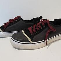 Sorel Sentry Mens Gray/black Canvas Skate Shoes Sneakers Sz 10 Euc Photo