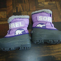Sorel Snow Boot 10 Purple  Photo