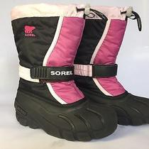 Sorel Snow Boots Girls Size 2 Photo