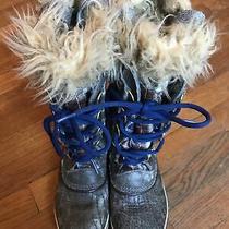 Sorel Snow Boots Girls Size 6 Photo