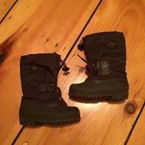 Sorel Snow Boots Purple 8 Toddler / Kid Photo