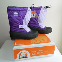 Sorel Snow Boots Youth Size 7 - Snow Pack New With Tags Kids Snow Boots Photo