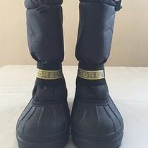 Sorel Snow Chariot Insulated Winter Snow Boots Size 6 Photo