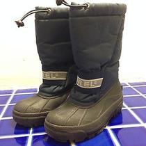 Sorel Snow Chariot Snow Boots Boys Size 13 Euc Photo