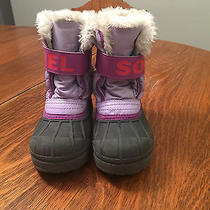 Sorel Snow Commander Girls Size 11 Snow Boots Photo