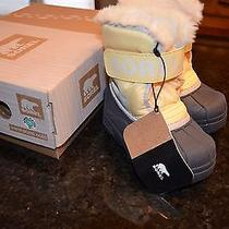 Sorel Snow Commander Toddler Size 7 Snow Boots Photo
