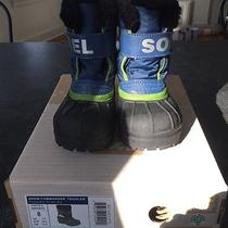 Sorel Snow Commander Toddler Snow Boots--Youth Size 8 Photo