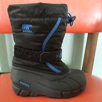 Sorel Snow Winter Boots Boy's Size 12 Photo