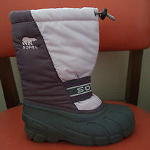 Sorel Snow Winter Boots Girl's Size 2 Photo