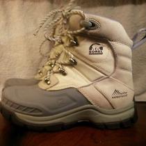 Sorel Timberwolf Leather Waterproof Insulated Women's Winter Snow Boots Sz. 6.5 Photo