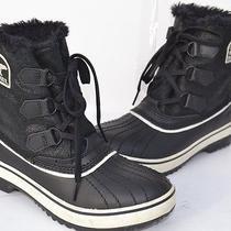 Sorel Tivoli Snow Boots Black Size 6 Photo