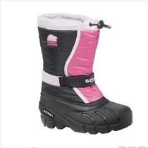 Sorel Toddler Girls Flurry Tp Waterproof Snow/winter Boots Prairie Rose Sz6 Photo