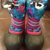 Sorel Toddler Snow Boots Size 6 Photo