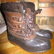 Sorel Winter Boots Badger Size 4 Brown Photo