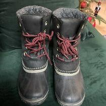 Sorel Winter Boots - Black Sz 7 Women Photo