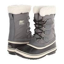 Sorel Winter Carnival Shale Grey  Nylon Waterproof Boots Womens Us  9.5 Photo