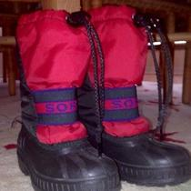Sorel Winter Snow Boots Childrens 10 Photo