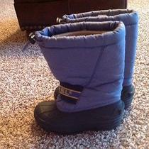 Sorel Winter Snow Size 13 Snow Chariot Boots Removable Liner Photo