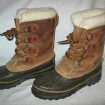 Sorel Womens Alpine Waterproof Winter Boots No Size Marked Will Fit 6.5m Photo