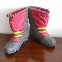 Sorel Womens Boots Size 4 Brown Wine  Photo