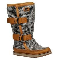 Sorel Womens chipahko&153 Wool Boot Sz 9m Photo